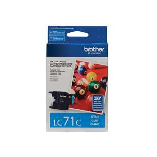 OEM Genuine Brother LC71C high quality inkjet cartridge - cyan