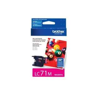 OEM Genuine Brother LC71M high quality inkjet cartridge - magenta