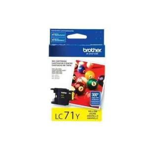 OEM Genuine Brother LC71Y high quality inkjet cartridge - yellow