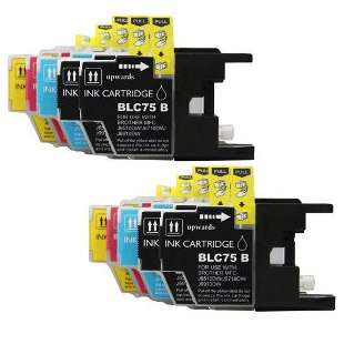 Compatible high quality inkjet cartridges Multipack for Brother LC75 / LC71 - 10 pack