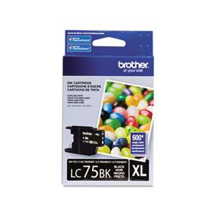 OEM Genuine Brother LC75BK high quality inkjet cartridge - black cartridge