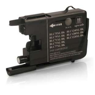 Compatible ink cartridge guaranteed to replace Brother LC75BK - black cartridge