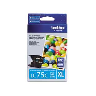 OEM Genuine Brother LC75C high quality inkjet cartridge - cyan