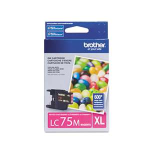 OEM Genuine Brother LC75M high quality inkjet cartridge - magenta