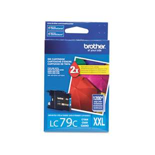 OEM Genuine Brother LC79C high quality inkjet cartridge - cyan