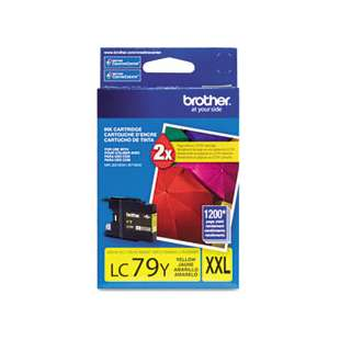 OEM Genuine Brother LC79Y high quality inkjet cartridge - yellow