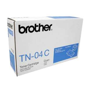 OEM Genuine Brother TN04C toner cartridge - cyan