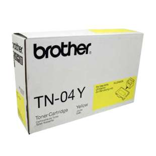 OEM Genuine Brother TN04Y toner cartridge - yellow