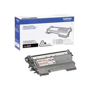 OEM Genuine Brother TN420 toner cartridge - black cartridge