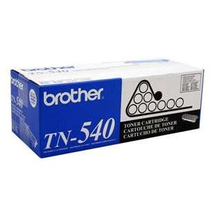 OEM Genuine Brother TN540 toner cartridge - black cartridge