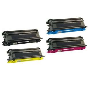 Compatible Brother TN115BK / TN115C / TN115M / TN115Y toner cartridges - high capacity - 4-pack