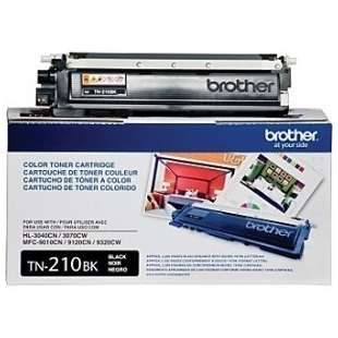 OEM Genuine Brother TN210BK toner cartridge - black cartridge