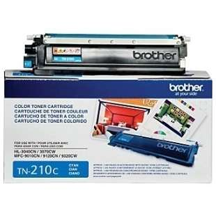 OEM Genuine Brother TN210C toner cartridge - cyan
