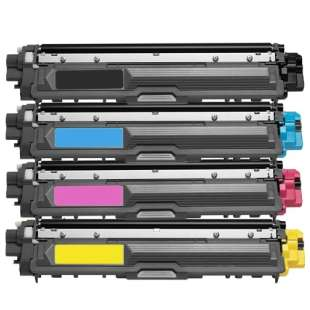 Compatible Brother TN221BK / TN221C / TN221M / TN221Y toner cartridges - 4-pack