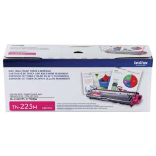 OEM Genuine Brother TN225M toner cartridge - high capacity magenta