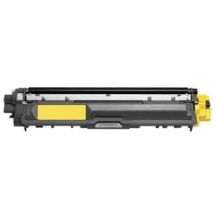 Compatible Brother TN225Y toner cartridge - 2,200 page yield - high capacity yellow