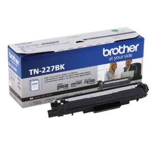 Original Brother TN227BK toner cartridge - black