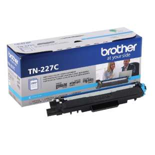 Original Brother TN227C toner cartridge - cyan