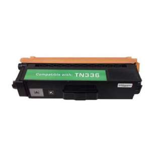 Compatible Brother TN336BK / TN331BK toner cartridge - high capacity black