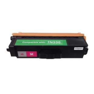 Compatible Brother TN336M / TN331M toner cartridge - high capacity magenta