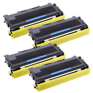 Compatible Brother TN360 toner cartridges - high capacity black - 4-pack