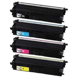 Compatible Brother TN436BK / TN436C / TN436M / TN436Y toner cartridges - 4-pack