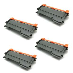 Compatible Brother TN450 toner cartridges - EXTRA HIGH YIELD (JUMBO) high quality black - 4-pack