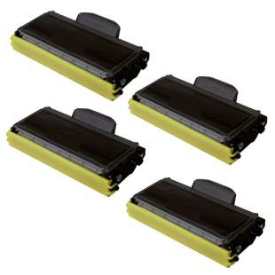 Compatible Brother TN460 toner cartridges - high capacity black - 4-pack