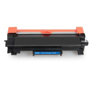 Compatible Brother TN760 toner cartridges - WITH CHIP - jumbo capacity black