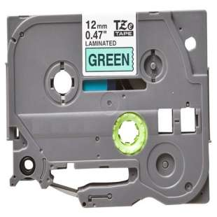 Compatible Tape for Brother TZe-731 - black on green