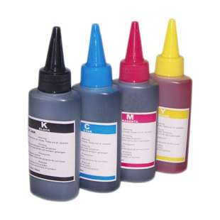 Universal Ink Refill Bottle for HP 100ml (Pigment Ink)