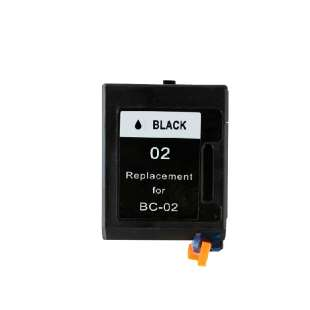 Remanufactured Canon BX-02 high quality inkjet cartridge - black cartridge