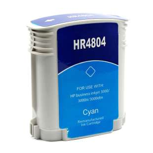 Remanufactured HP C4804A (HP 12 ink) high quality inkjet cartridge - cyan