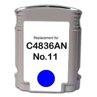 Remanufactured HP C4836A (HP 11 ink) high quality inkjet cartridge - cyan