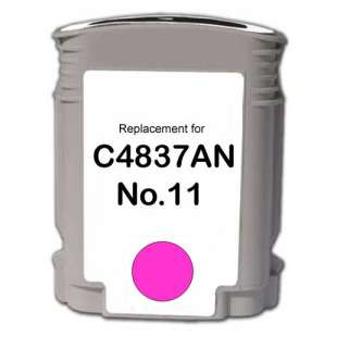 Remanufactured HP C4837A (HP 11 ink) high quality inkjet cartridge - magenta