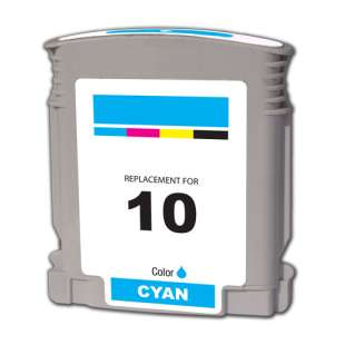 Remanufactured HP C4841A (HP 10 ink) high quality inkjet cartridge - cyan