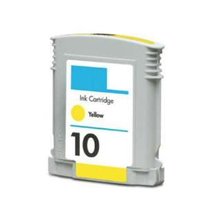 Remanufactured HP C4842A (HP 10 ink) high quality inkjet cartridge - yellow