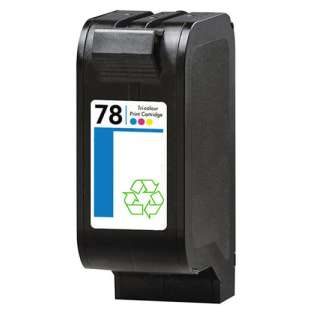 Remanufactured HP C6578 (HP 78 ink) high quality inkjet cartridge - color cartridge