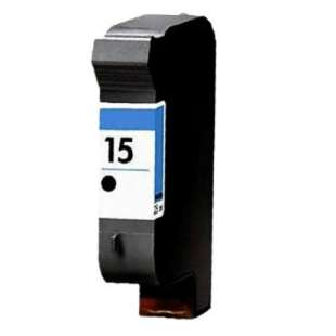Remanufactured HP C6615 (HP 15 ink) high quality inkjet cartridge - black cartridge