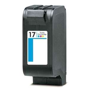 Remanufactured HP C6625 (HP 17 ink) high quality inkjet cartridge - color cartridge