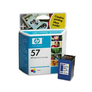 Original Hewlett Packard (HP) C6657 (HP 57 ink) high quality inkjet cartridge - color cartridge