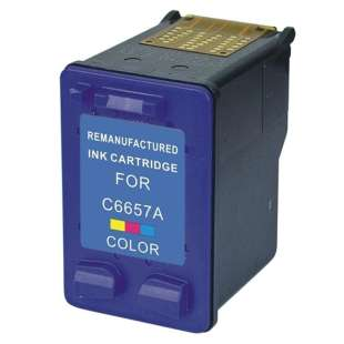 Remanufactured HP C6657 (HP 57 ink) high quality inkjet cartridge - color cartridge