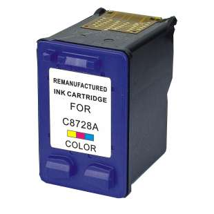 Remanufactured HP C8728AN (HP 28 ink) high quality inkjet cartridge - color cartridge
