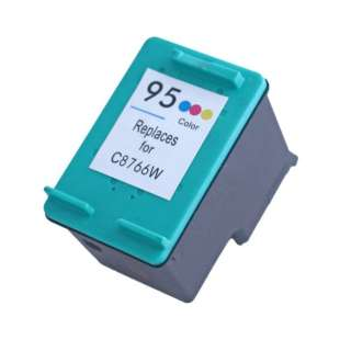 Remanufactured HP C8766 (HP 95 ink) high quality inkjet cartridge - color cartridge