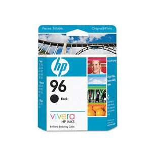 Original Hewlett Packard (HP) C8767 (HP 96 ink) high quality inkjet cartridge - black cartridge