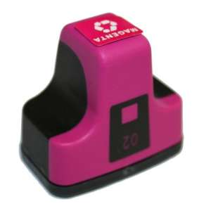 Remanufactured HP C8772WN (HP 02 ink) high quality inkjet cartridge - magenta