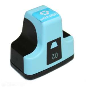 Remanufactured HP C8774WN (HP 02 ink) high quality inkjet cartridge - light cyan