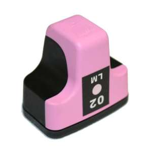 Remanufactured HP C8775WN (HP 02 ink) high quality inkjet cartridge - light magenta