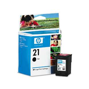 Original Hewlett Packard (HP) C9351AN (HP 21 ink) high quality inkjet cartridge - black cartridge