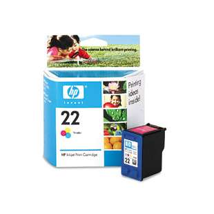 Original Hewlett Packard (HP) C9352AN (HP 22 ink) high quality inkjet cartridge - color cartridge